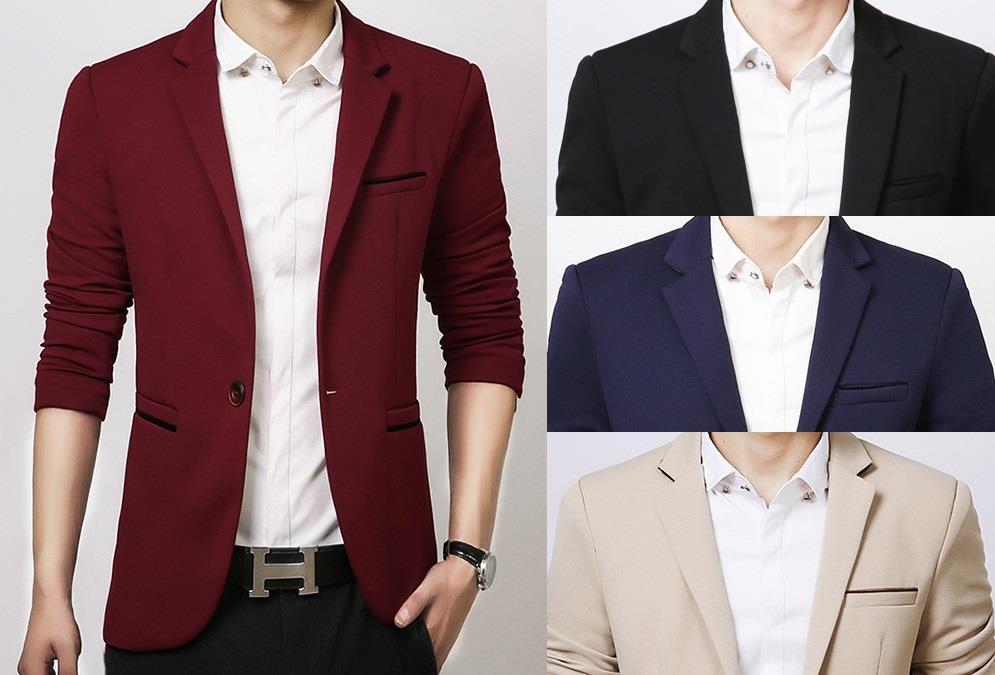 MB08 Korean Style Casual Slim Fit Men (end 9/7/2018 2:04 PM)