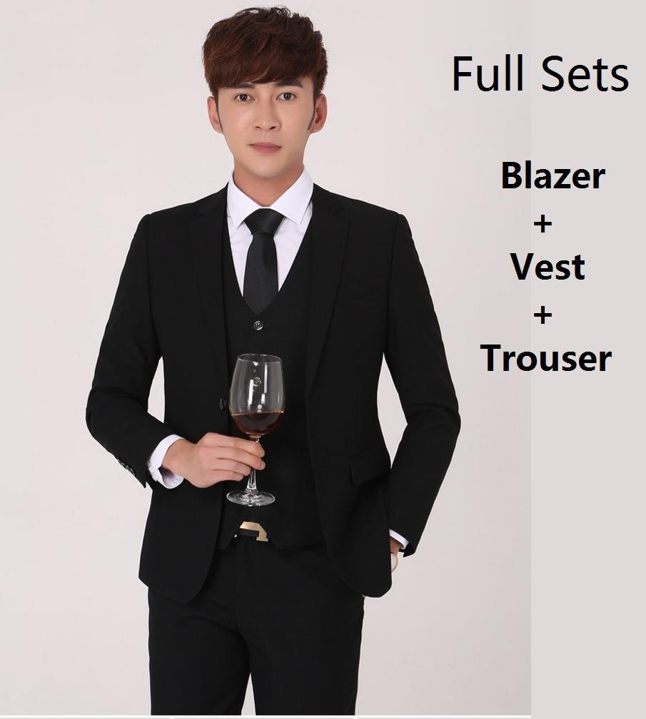 MBFS01 Korean Style Slim Fit Men Blaz (end 9/7/2018 1:58 PM)