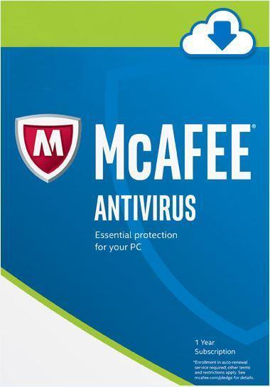 Mcafee Antivirus Internet Total Protection LiveSafe Security 2018 PC
