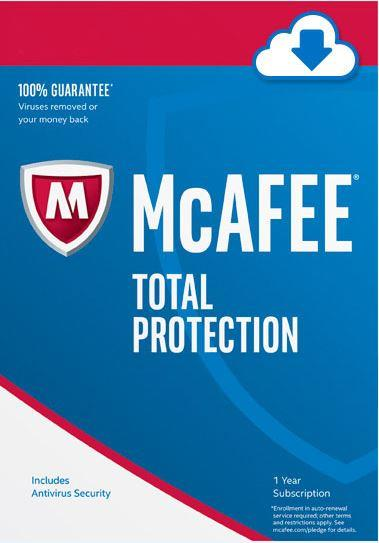 Mcafee Antivirus Internet Total Protection LiveSafe Security 2018 PC
