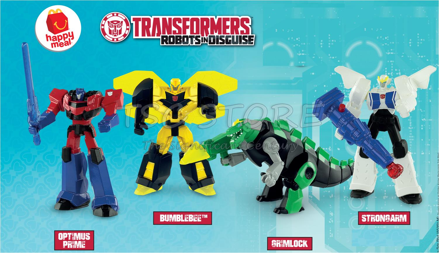 mcd mcdonald's - transformers (4pc - (end 5/18/2019 9:43 pm)