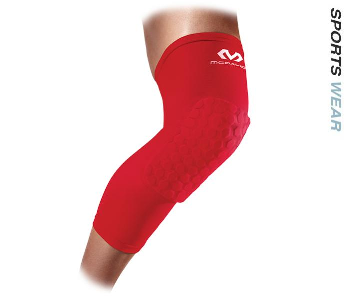 McDavid Hex Leg Sleeves - Red -MCD-6446-RED