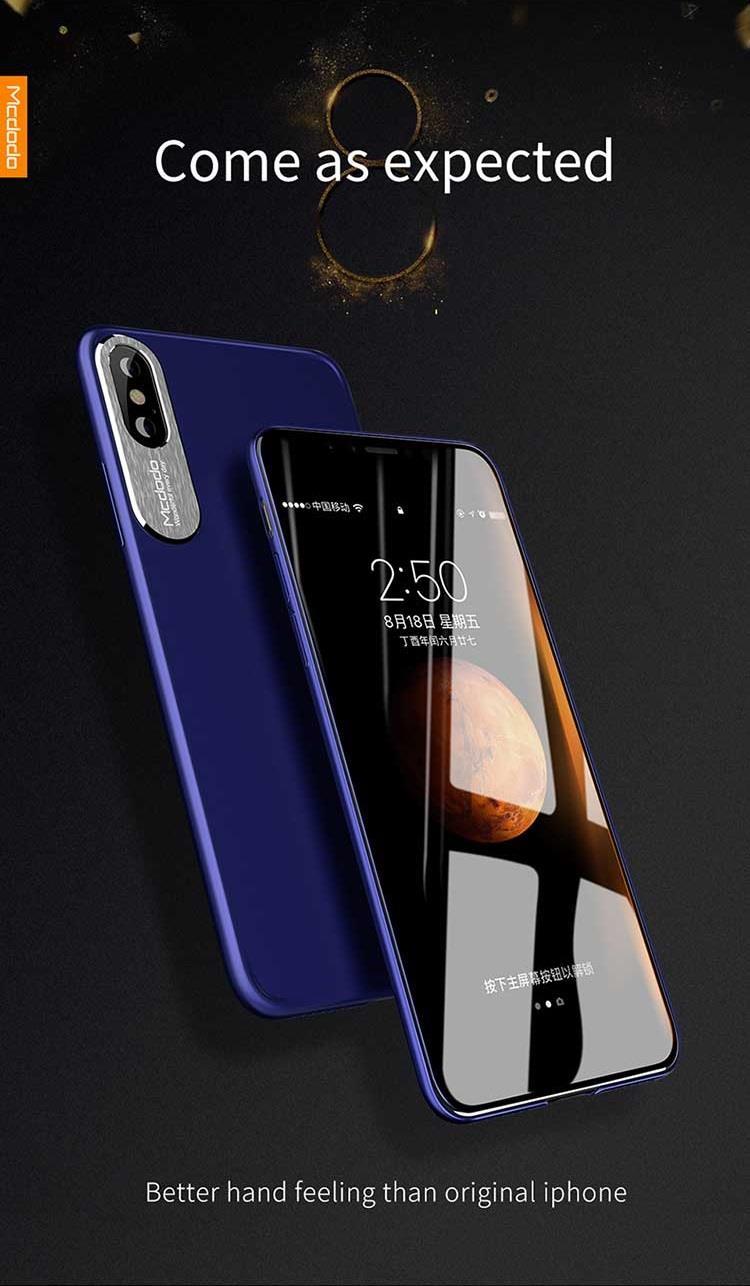 Mcdodo iPhone 7 8 Plus Sharp Aluminum Alloy Soft Matte Case Cover