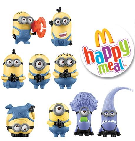 McDonald Despicable Me 2 Happy Meal (end 3/26/2018 12:15 AM)