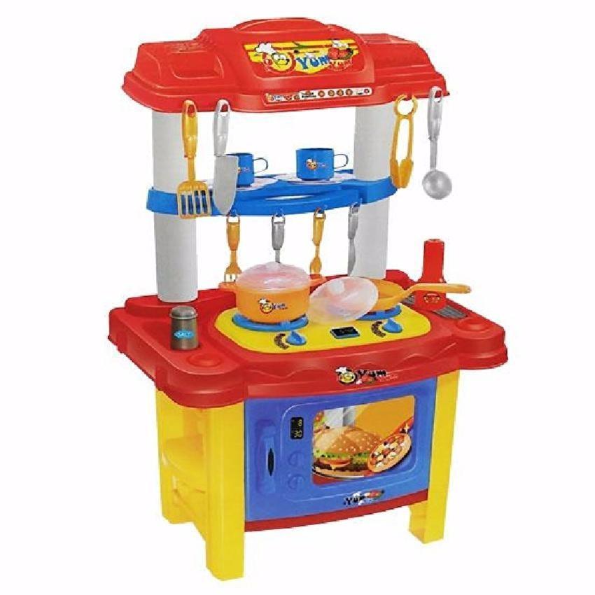 Mcdonald S Kitchen Playset Sound Light Musical Oven