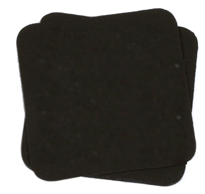 MCS Black Colour Tile 9cm / 5cm / 12cm- (25 pcs)