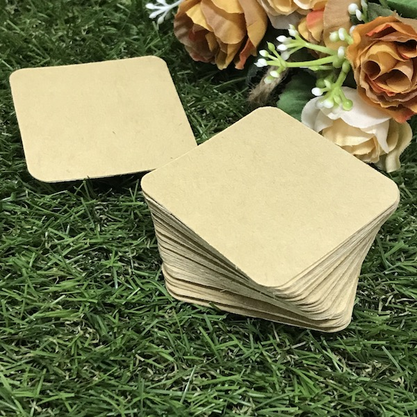 MCS Brown Colour Tile 9cm / 5cm / 12cm- (25 pcs)