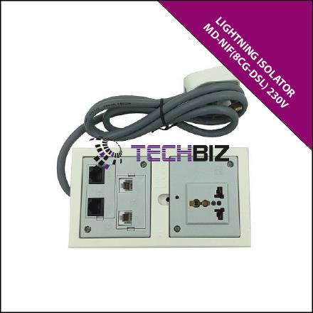 MD-NIF(8CG-DSL)Module for 230V Universal Power Outlet,RJ45 Gigabit LAN