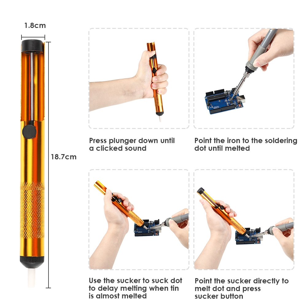 Measuring Tools - D60 Electronic Soldering Iron Kit With Temperature C..