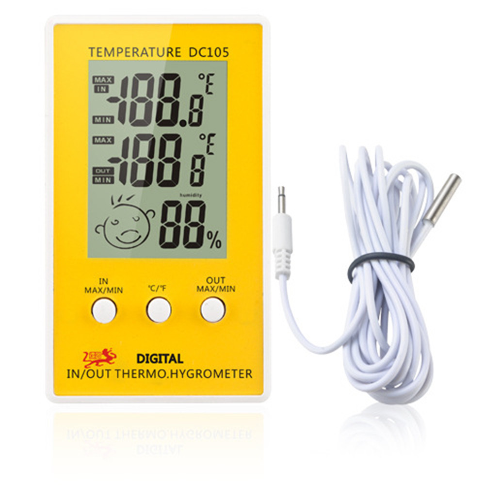 Measuring Tools - Temperature Instrument - Dc105 Lcd Digital Thermomet..