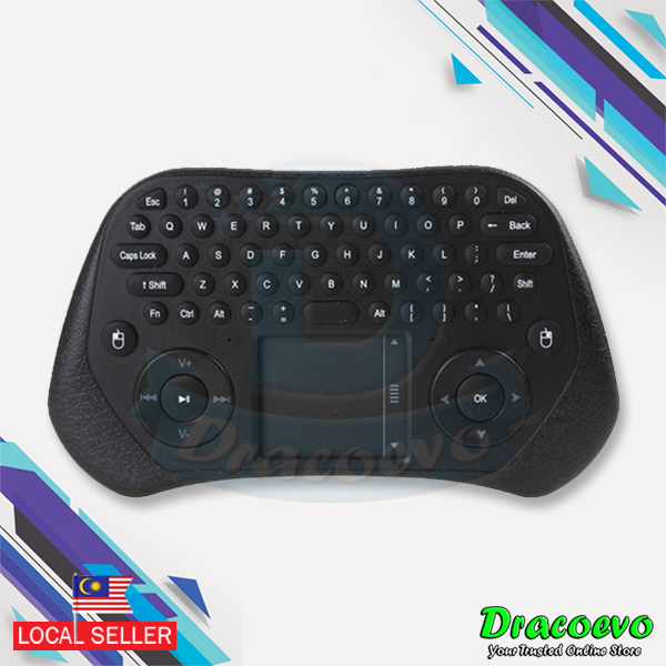 Measy GP800 Mini Wireless Touchpad Air Mouse Keyboard Android TV Box