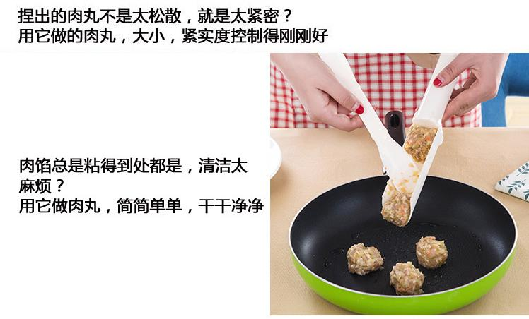 Meatball DIY Quick Maker Convenient Mould