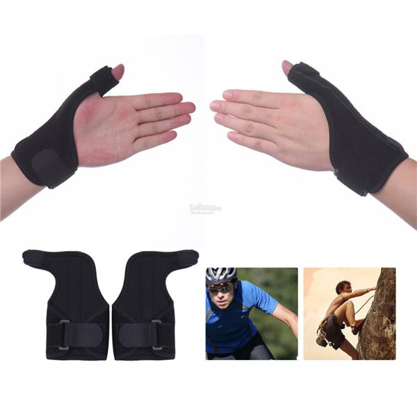 Medical Wrist Elastic Thumb Wrap Hand Palm Wrist Brace Splint Support