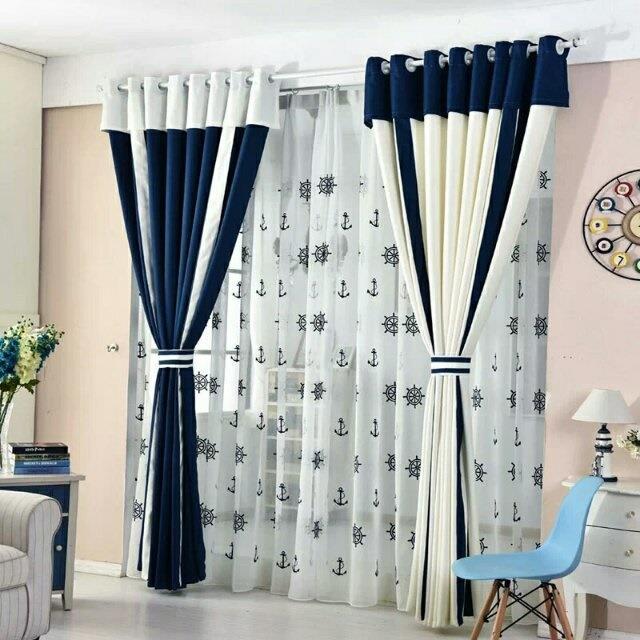 Mediterranean Style Curtain Langsir