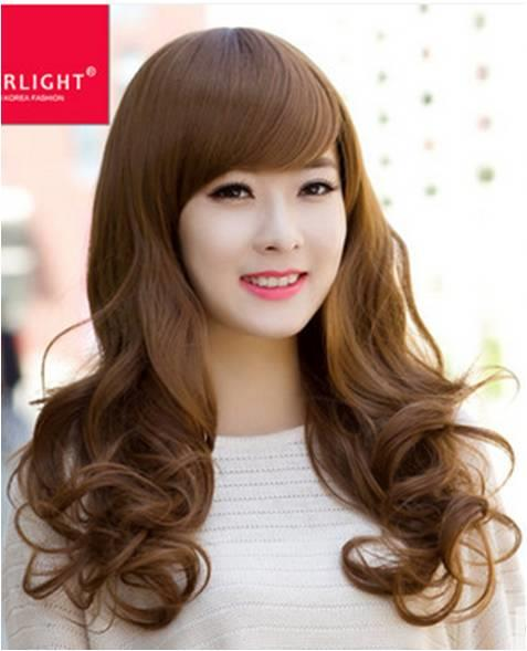 Medium hair wig SP3/ rambut palsu/ ready stock