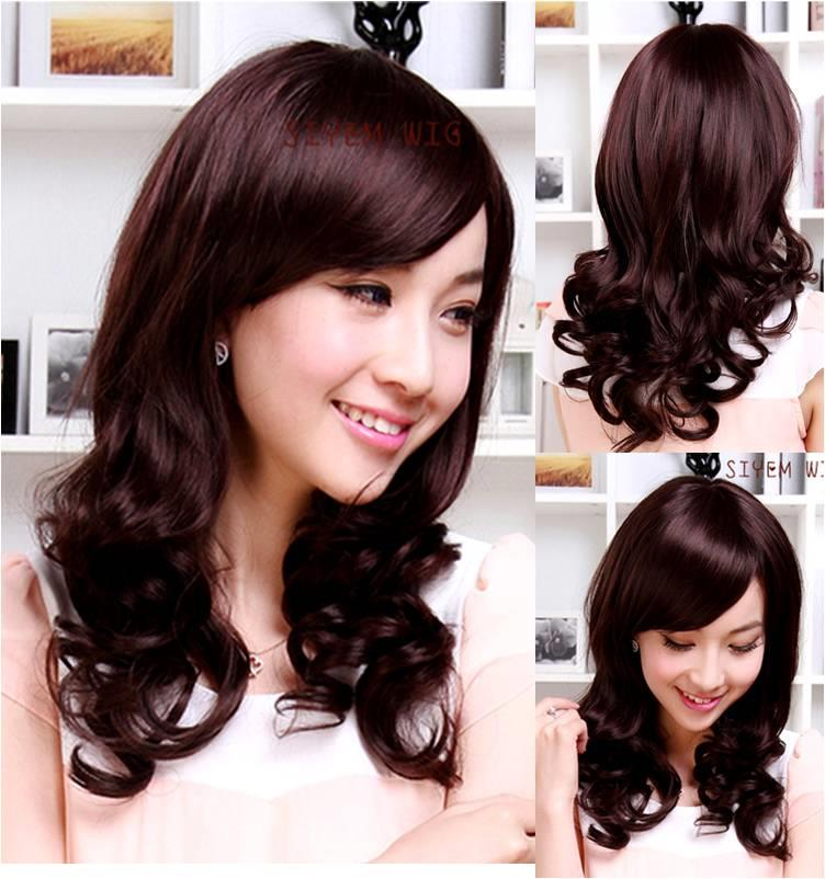 Medium wig CE41/ready stock/rambut palsu