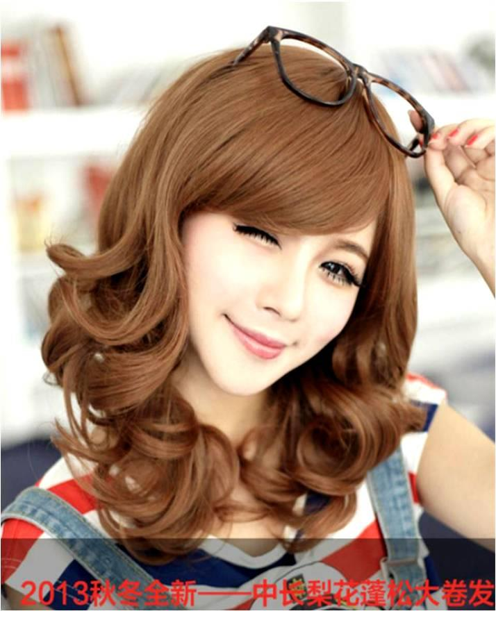 Medium wig CE51/ready stock/rambut palsu