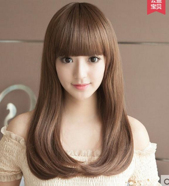 medium wig straight 0019/ready stock/rambut palsu