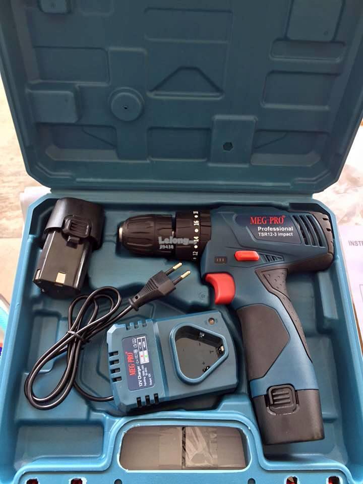 Meg Pro 12v Cordless Impact Hammer Drill Tsr12 3