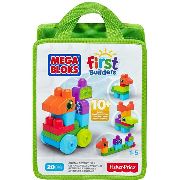 Mega Bloks by Fisher Price First Builders 20pcs Animal Adventure