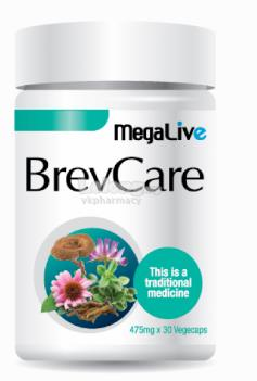 MEGALIVE BREVCARE For Chronic Cough,Immunity Booster,Sinusitis30S