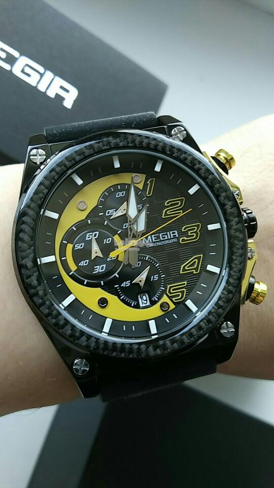 MEGIR 2051 MILITARY SPORT CHRONOGRAPH WATCH MEN