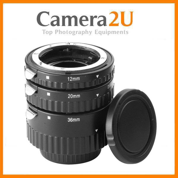 Meike (Metal Mount) Auto Focus Macro Extension Tube For Canon Nikon