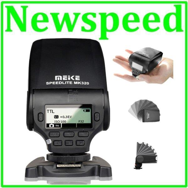 New Meike MK320 Speedlite Flash Light for Nikon Camera