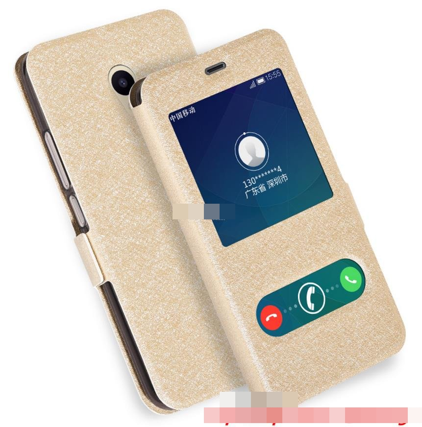 Meizu M5C Flip PU Leather Stand Case Cover Casing