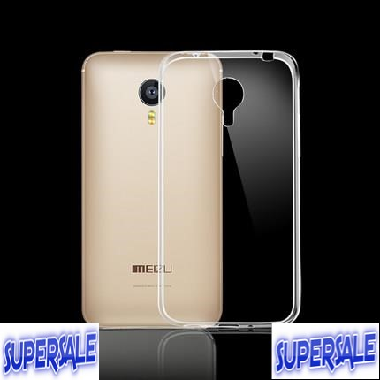 Meizu MX4 transparent silicone protection case