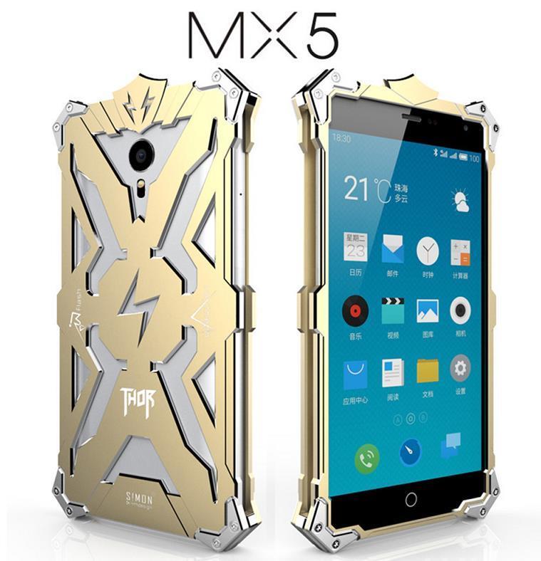 Meizu MX5 MX4 Pro Aluminium Iron Metal Case Cover Casing + Free Gifts. ‹ ›