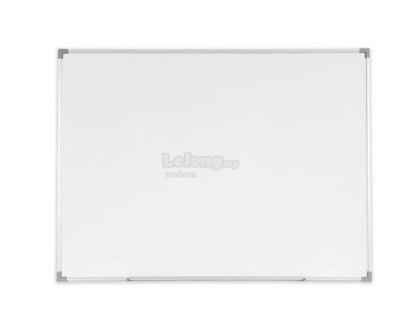 Melamine Magnetic Whiteboard Aluminium Frame SM34 90x120 (3X4)