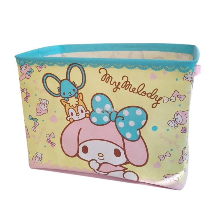 My Melody Foldable Laundry Storage Basket Bag Yellow (Design 2)