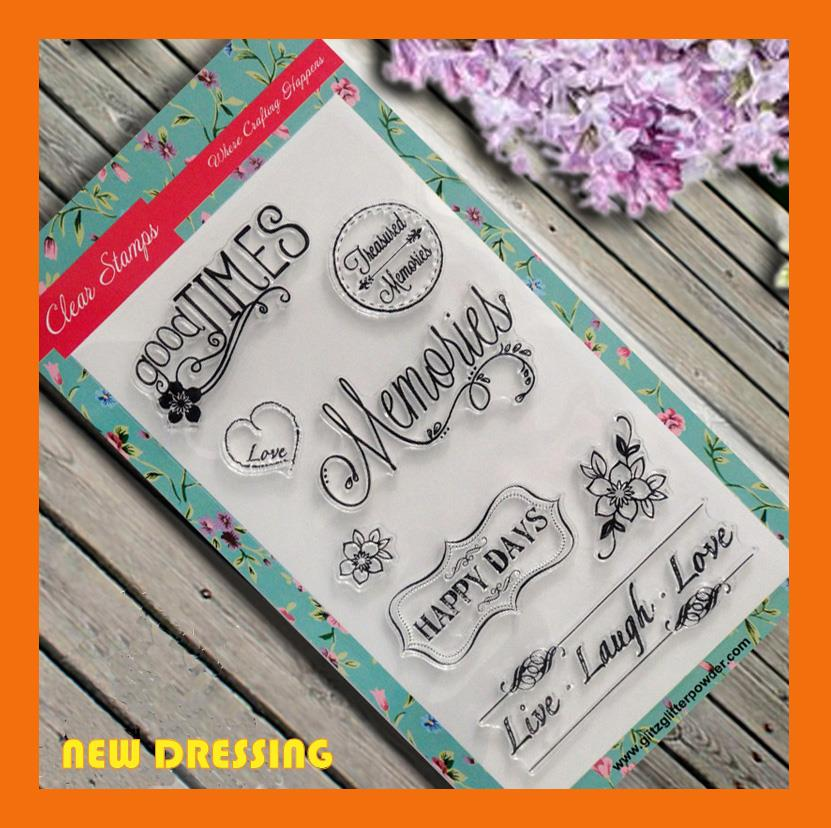 Memory Clear Stamp - Zakka/Diary/Photobook DIY