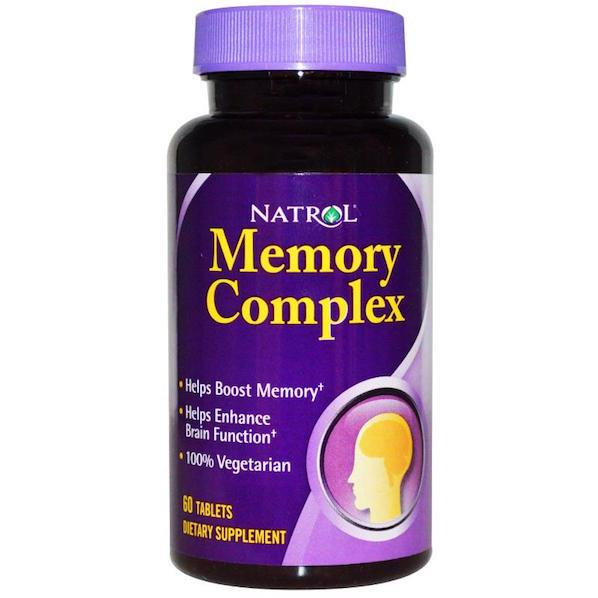 Memory Complex, 60 Tablets 100% Vegetarian (Memory, Concentration)
