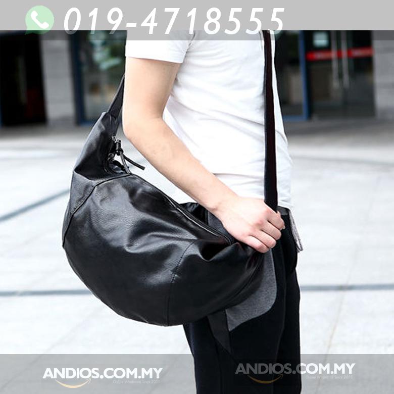 0be069fc79 Sport men s weekend bag Solier GOVAN dark brown … Men Black Satchel  Shoulder Bag Fashion Zipper Dumpling Shape Messenger. ‹ ›