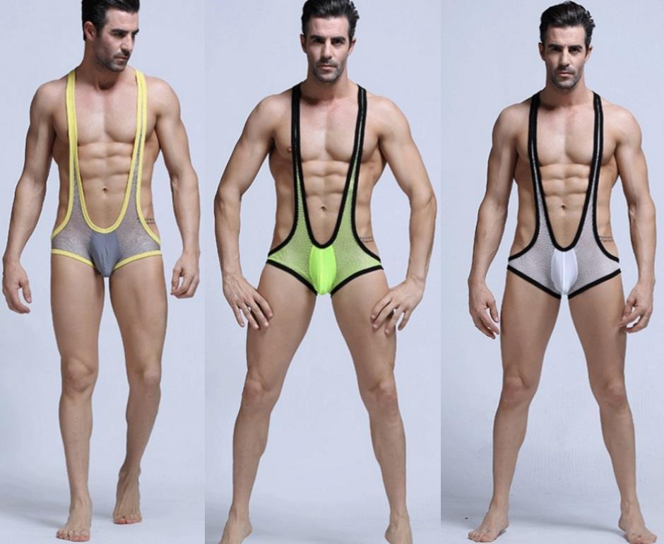 Men bodysuit underwear funky sexy gy (end 4/16/2019 1:15 PM)
