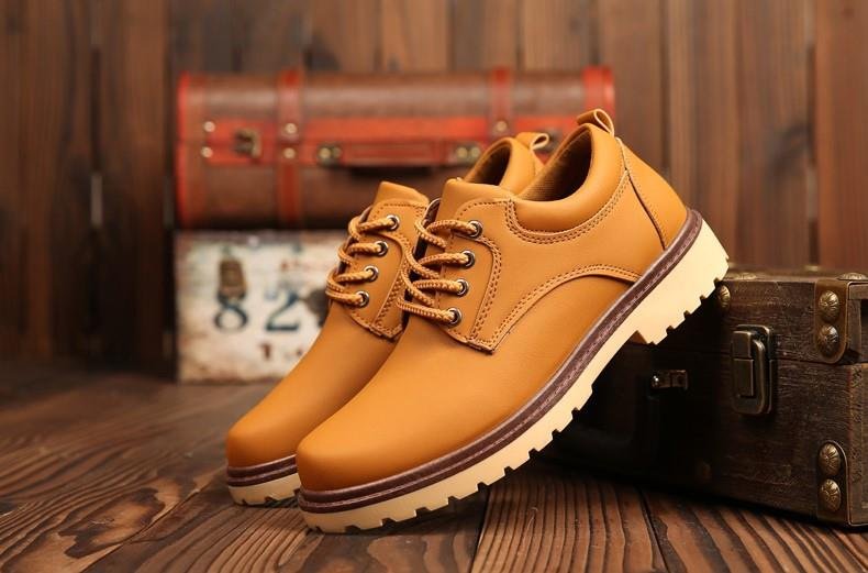 Men  England Casual Shoes  Working Shoes