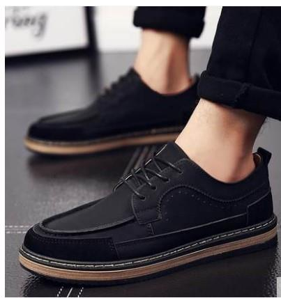 f46ee965eea82 Men England Retro Style Business Shoes Men Casual Shoes