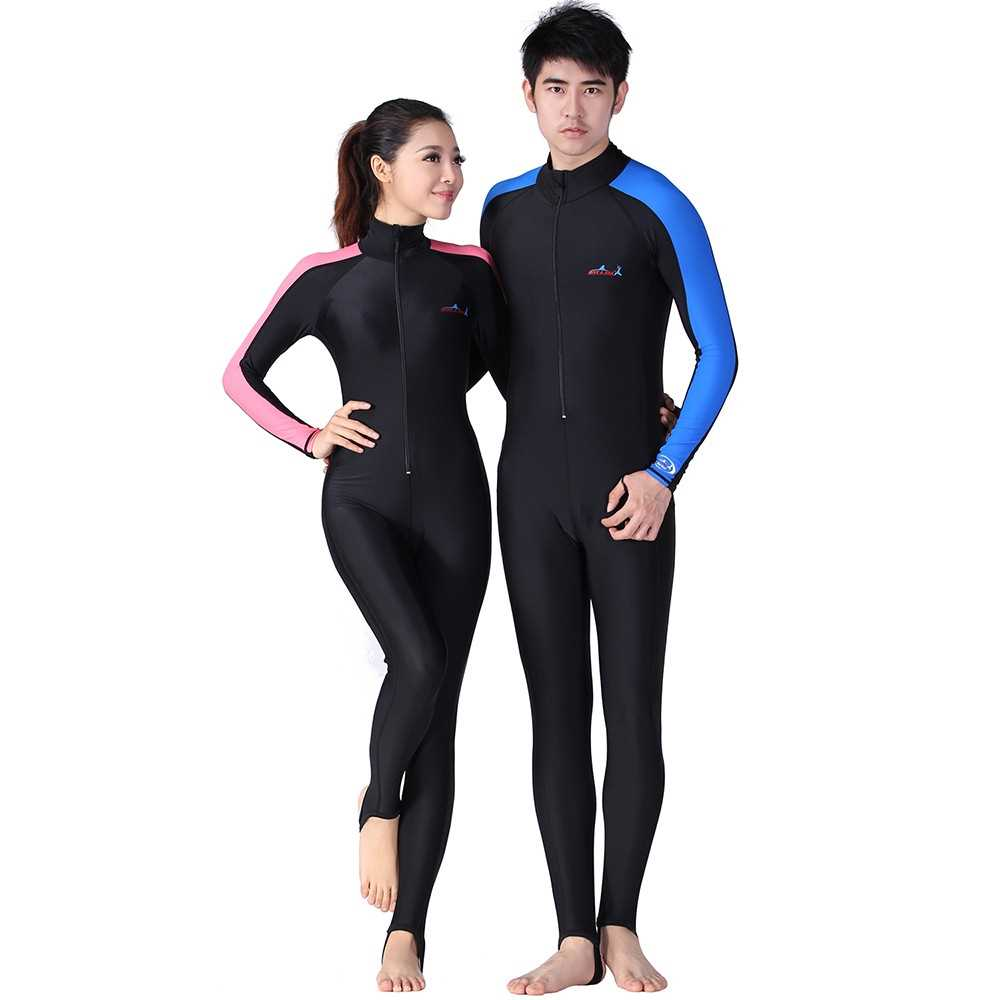 192c5a9aed Men Full Body Diving Swimming Surfing Spearfishing Wet Suit UV Protect