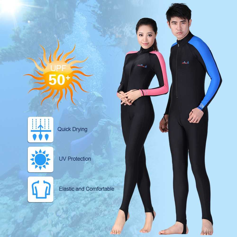 be681a8f1a Men Full Body Diving Swimming Surfing Spearfishing Wet Suit UV Protection  Snor