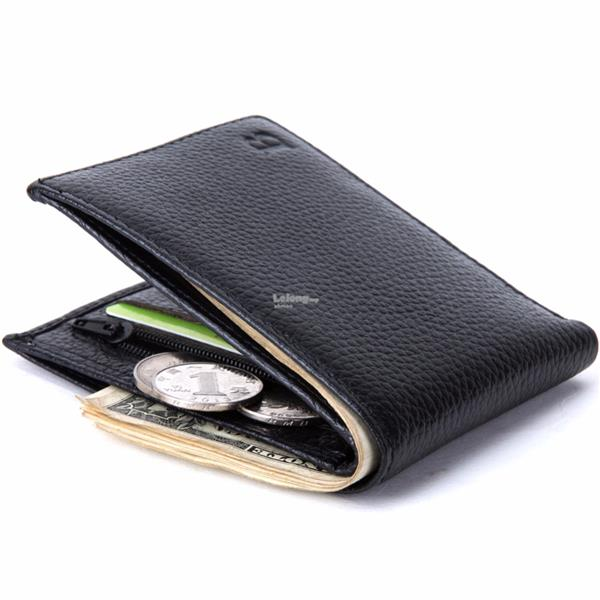Men Genuine Leather Wallet With Coin Pocket - Men Purse 579
