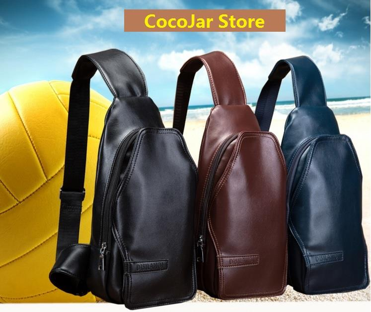 2fdca345d7 Men High Quality PU Leather Sling Ba (end 11 5 2019 3 38 PM)