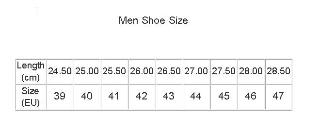 Men Korean Fashion British Style Casual Leather Black Shoes