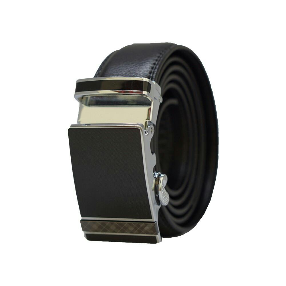 Men Luxury Automatic Buckle Belt MB043 Genuine Leather