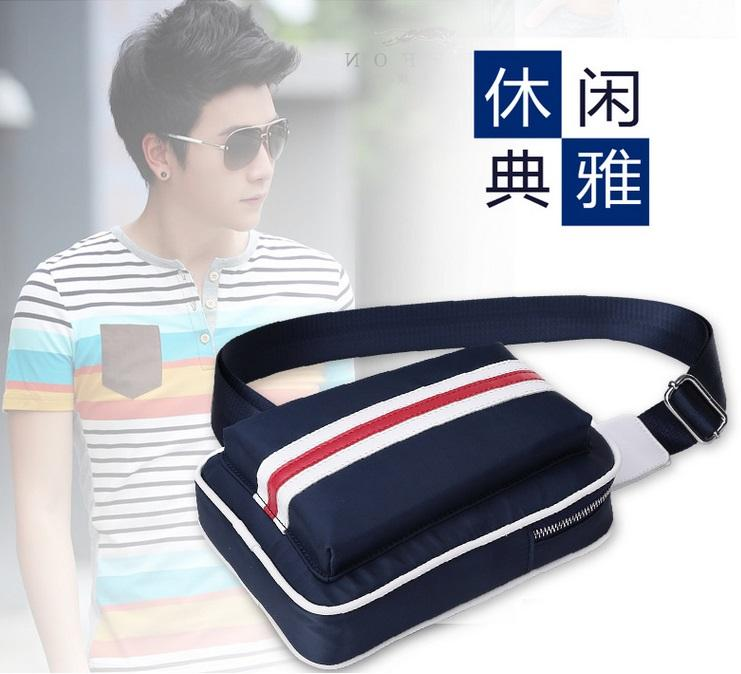 Men Nylon Sling Cross Body Shoulder Bag (High Quality Version)