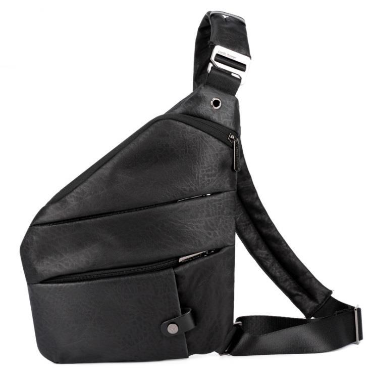 Men Oxford Anti Theft Shoulder Cross Body Chest Sling Bag. ‹ › 466cb20889a5b
