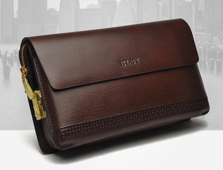 5d96073b1 MEN PREMIUM Genuine Leather Clutch Bag Password Protection Lock Wallet. ‹ ›