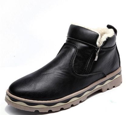 Men's Autumn Winter Snow Boots Shoes (end 8/20/2019 5:45 PM)