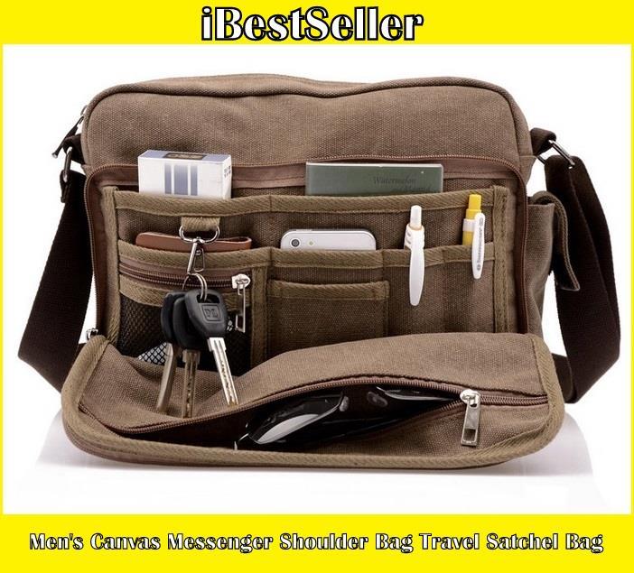 e44eabd1802 Men s Canvas Messenger Shoulder Bag (end 7 17 2020 10 15 PM)